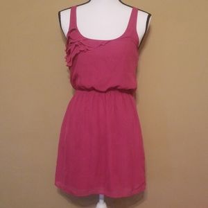 Pink dress by eyelash coutour (xs)